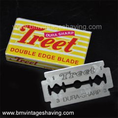 Treet Dura Double Edge Razor Blades 10pk