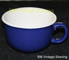 Ceramic Shave Mug - Blue