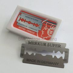 Merkur Double-Edge Platinum Razor Blades 10pk
