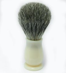Faux Ivory Mixed Badger Shaving Brush