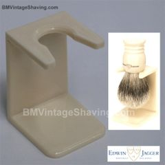 Edwin Jagger Ivory Plastic Drip Stand Large Neck