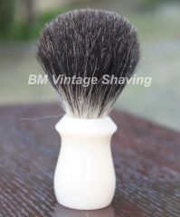 Best Badger Shaving Brush - Faux Ivory