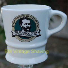 Ceramic shaving Mug #115
