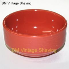 Ceramic Shave bowl - Orange