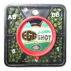 Dinsmores Green-Cushioned Egg 5-Shot Dispenser