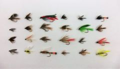 24 Fly Assortment - Wet Fly