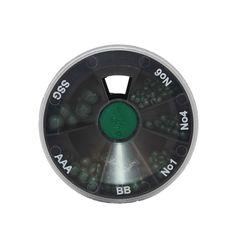 Dinsmores Green-Cushioned Egg 6-Shot Dispenser