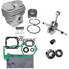 STIHL MS440, 044 CYLINDER OVERHAUL KIT STANDARD 50MM 12 PIN