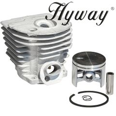 >HUSQVARNA 55, 51 Hyway brand CLOSED PORT CYLINDER KIT NIKASIL 46MM