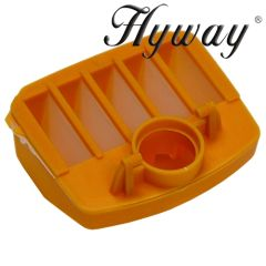 HUSQVARNA 340, 345, 346, 350, 351, 353 HYWAY brand AIR FILTER (NYLON MESH) in plastic housing