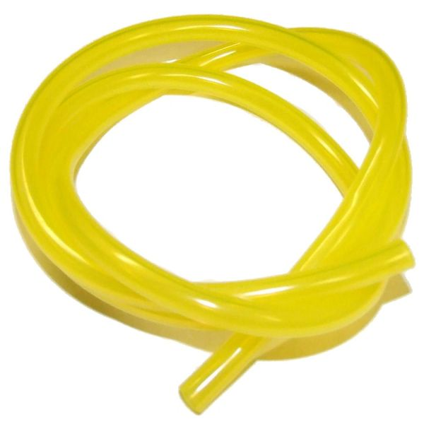 "FUEL LINE CLEAR YELLOW (TYGON TYPE) 1/4"" ID X 3/8"" OD"