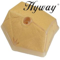 HUSQVARNA 55, 51 HYWAY brand AIR FILTER (FELT) without base (screw on) type