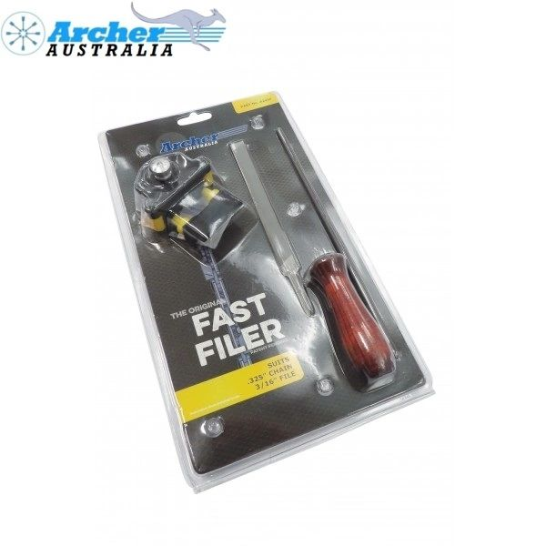 """Archer Fast Filer - 3/16"""" TOOL for .325"""" pitch chain"""