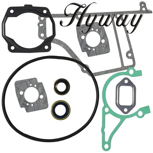 STIHL TS400 GASKET SET With oil seals Hyway Brand