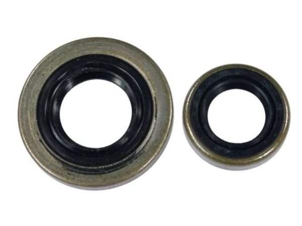 STIHL CRANKSHAFT OIL SEAL SET FOR 028, 028 AV Super Chainsaw, & BR, FS, SR Machines