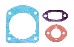 HUSQVARNA 61, 161, 266, 268, 272 Jonsered 625, 630 CYLINDER BASE, EXHAUST, INTAKE GASKET SET
