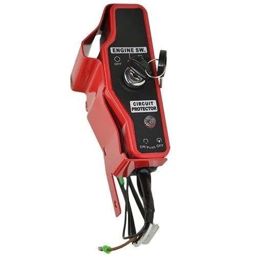 HONDA GX160, GX200, GX240, GX270, GX340, GX390 SWITCH PANEL AND KEYS FOR ELECTRIC STARTER