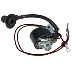 STIHL MS460, MS650, MS660 *066, 046 IGNITION COIL (*066 NEWER PLASTIC FLYWHEEL STYLE) WITH WIRE AND CAP