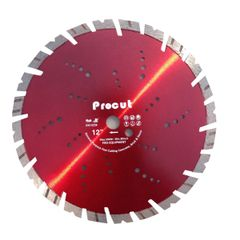 "SPC000302 - 12"" LASER WELDED DIAMOND wet-dry SAW BLADE"