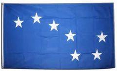 blue starry plough flag