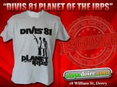 Divis 81 - Planet of the Irps T-shirt