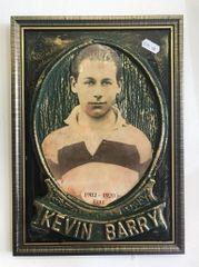 Kevin Barry Plaque - Bronze