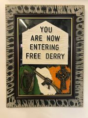 Free Derry Plaque