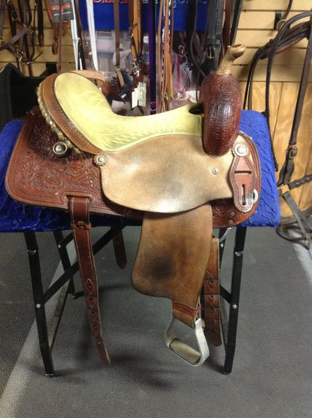 Corriente Barrel Saddle Ready to Ride!
