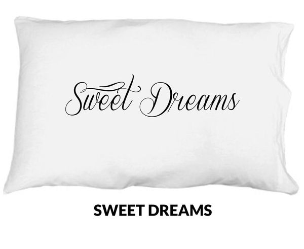 Sweet Dreams Single Standard Pillowcase
