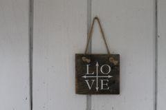 "Sign ""LOVE"""