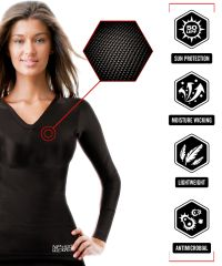 NPmotowear Base Layer Womens Long sleeve T-Shirt
