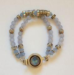 Chalcedony & Moonstone Bracelet