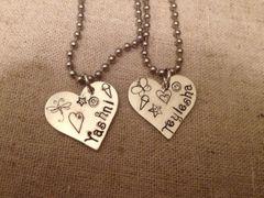 Best Friends Necklace Set of 2