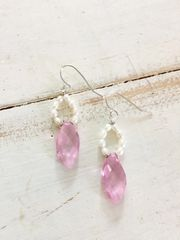 Pink Lady Earrings