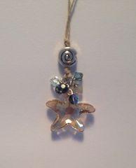 Sparkling Starfish Necklace