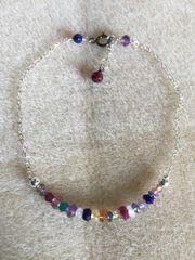 Mardi Gras Linear Bracelet