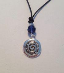 Chakra Swirl Pendant Necklace/ Set of 7