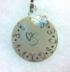 My Angels Personalized Necklace (Large Size)