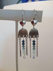 Jellyfish Blues Earrings