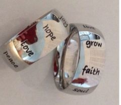Inspirational Thumb Ring