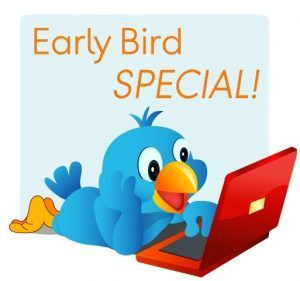 Early Bird Discount Payment Option