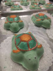 Paint your own Sea Turtle Bath Bomb