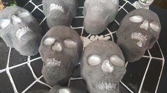 DIY Paint your own Skull Bath Bomb