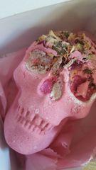Forbidden jelly skull bath bomb