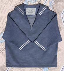 Chambray Middy Sailor Top