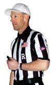 "2"" Stripe College Football shirt"