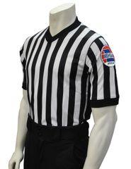 "MSHSAA Men's Dye Sublimated 1"" Stripe Shirt"