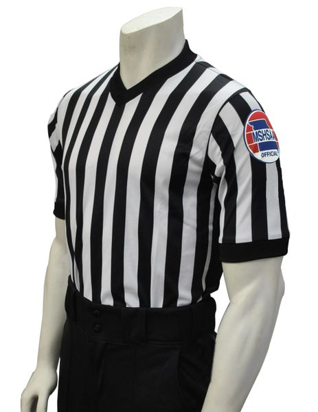 "MSHSAA Men's Dye Sublimated 1"" Stripe Shirt"