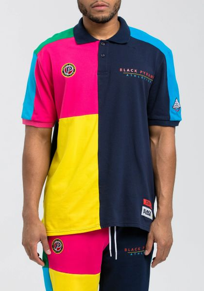 7f3225f3 BLACK PYRAMID BP ATHLETIC COLOR POLO SHIRT | Turning Point a hot ...