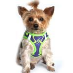 American River Choke Free Dog Harness Neon Sport Collection - Ultra Violet